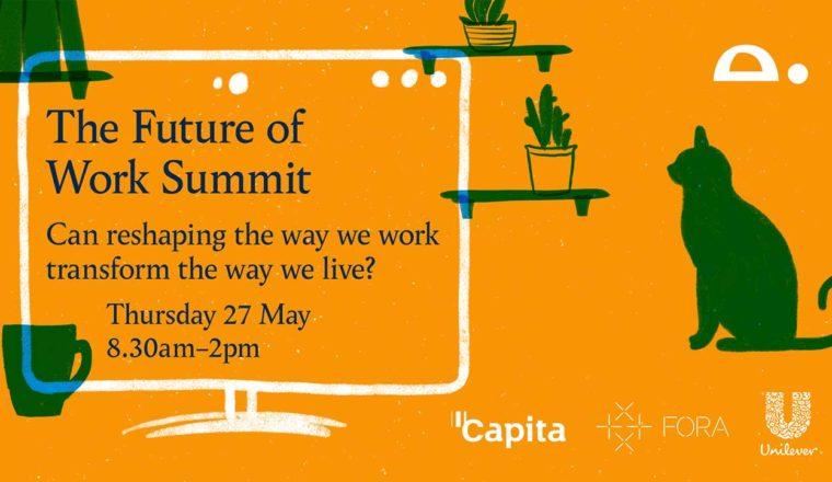 Screenshot of Future of Work summit