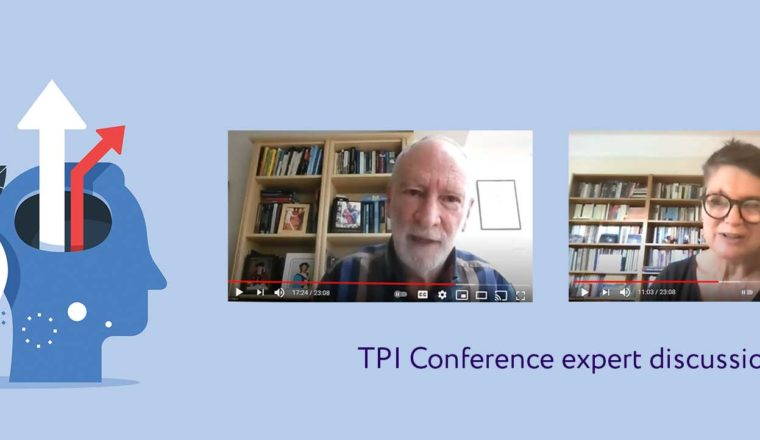 Screenshot of video discussion