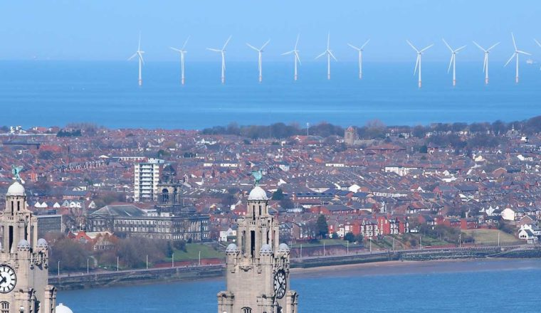 Liverpool and wind farms