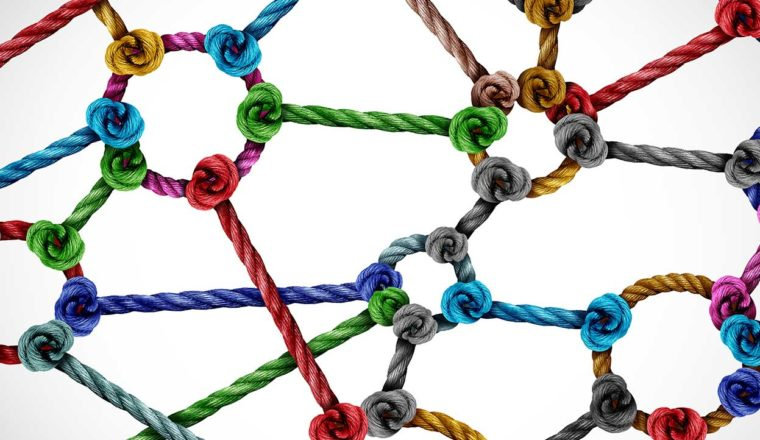 Image of strings and knots